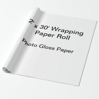 Papier Cadeau Papier d'emballage (petit pain 2x30, papier de