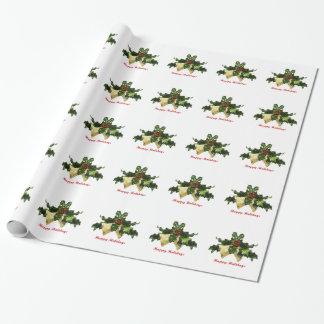 Papier Cadeau Papier d'enveloppe de cadeau de gui
