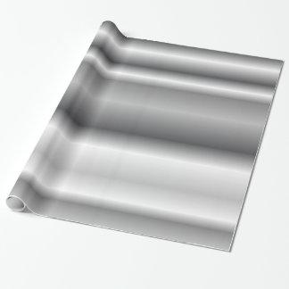 Papier Cadeau Papier ondulé horizontal argenté d'enveloppe de