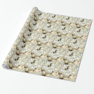 Papier Cadeau Perles