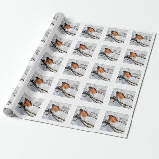 Papier Cadeau Photo américaine de merle