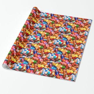 Papier Cadeau Pile de perle