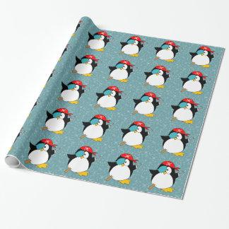 Papier Cadeau Pingouin de pirate