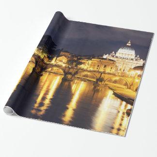 Papier Cadeau Pont de Vatican des anges