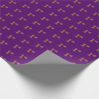 Papier Cadeau Pourpre, papier d'emballage (de premier) événement