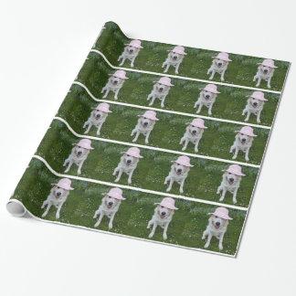 Papier Cadeau poursuivez le papier d'emballage, votre animal