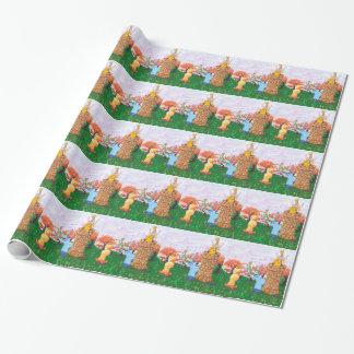 Papier Cadeau Princesse Cows et la grenouille