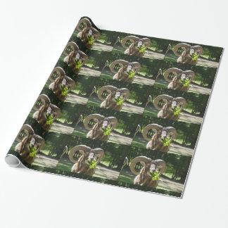 Papier Cadeau RAM impressionnante de Mouflon