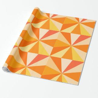 Papier Cadeau Rayons 60s géométriques géniaux modernes d'art de