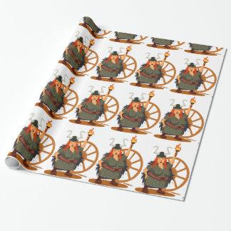 Papier Cadeau Règle de Vikings de femmes
