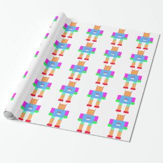 Papier Cadeau robot