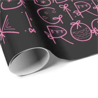 Papier Cadeau Roche noire de filles !