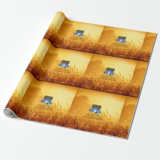 Papier Cadeau Slogan de collecte de PIÈCE EN T