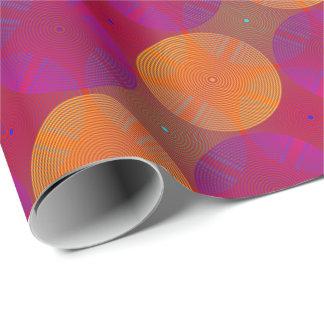 Papier Cadeau Sonoma orange et pourpre