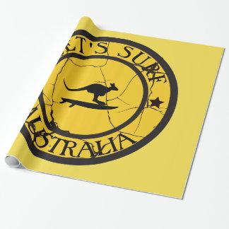 Papier Cadeau Surfer en Australie