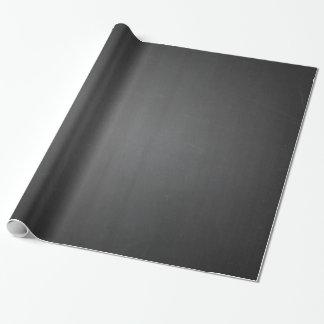 Papier Cadeau Tableau noir rustique imprimé