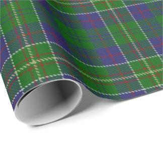 Papier Cadeau Tartan d'écossais de chasseur de clan