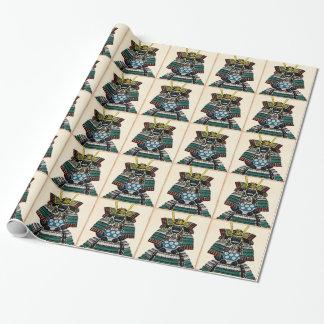 Papier Cadeau Tatouage classique japonais d'art de Ō-yoroi