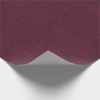 Papier Cadeau Texture de toile de jute colorée par vin