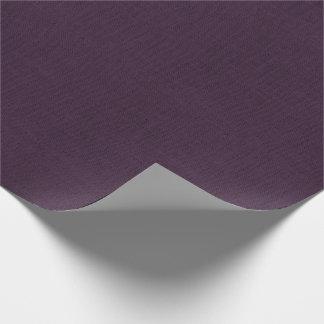 Papier Cadeau Texture de toile de jute de prune
