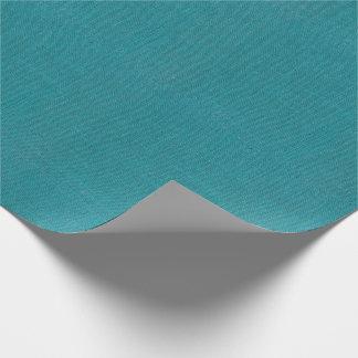 Papier Cadeau Texture de toile de jute de turquoise