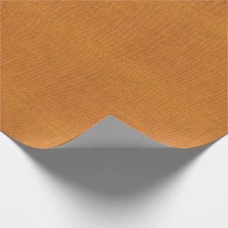Papier Cadeau Texture orange de toile de jute