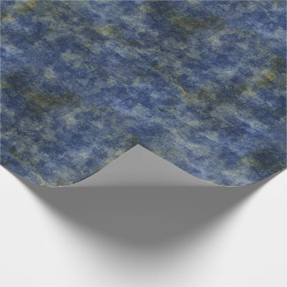 Papier Cadeau Texture rustique de bleu d'indigo