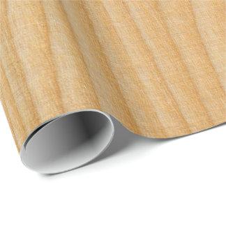 Papier Cadeau textures en bois légères de conseil