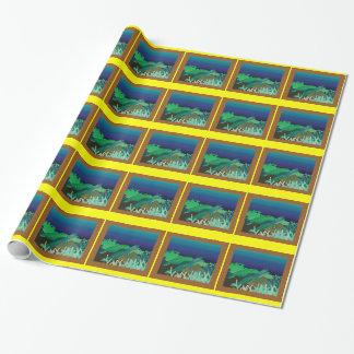 Papier Cadeau Tortues d'Hawaï