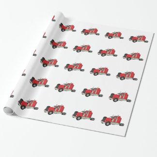 Papier Cadeau Tracteur de Kenworth