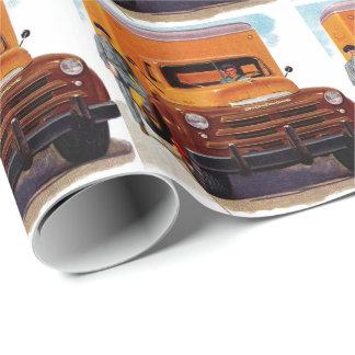 Papier Cadeau truckin de camionneurs de camion'