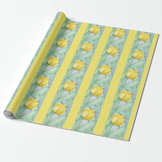 Papier Cadeau Tulipes