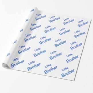 Papier Cadeau Typographie de petit frère