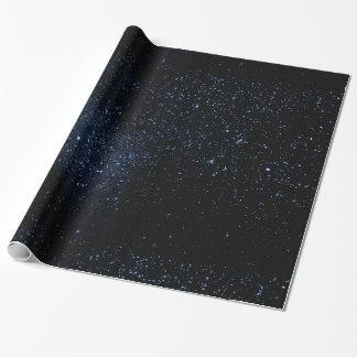 Papier Cadeau Un ciel complètement des étoiles