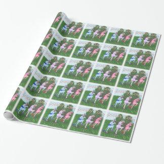 Papier Cadeau Vaches sournoises et sournoises