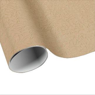 Papier Cadeau Vignes de feuille de relief par or de blé