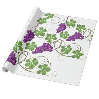 Papier Cadeau Vignes - papier d'emballage