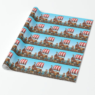 Papier Cadeau Vikings