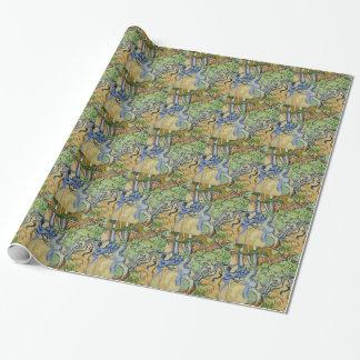 Papier Cadeau Vincent van Gogh - racines d'arbre