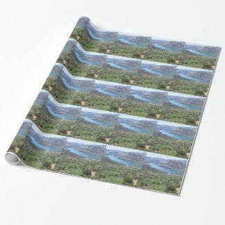 Papier Cadeau Vue de lac apache