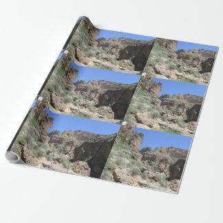 Papier Cadeau Vue de traînée d'Apache