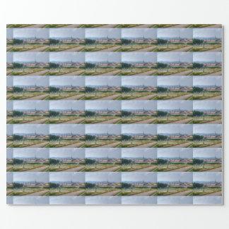 Papier Cadeau Vue panoramique au-dessus de Vienne Autriche de