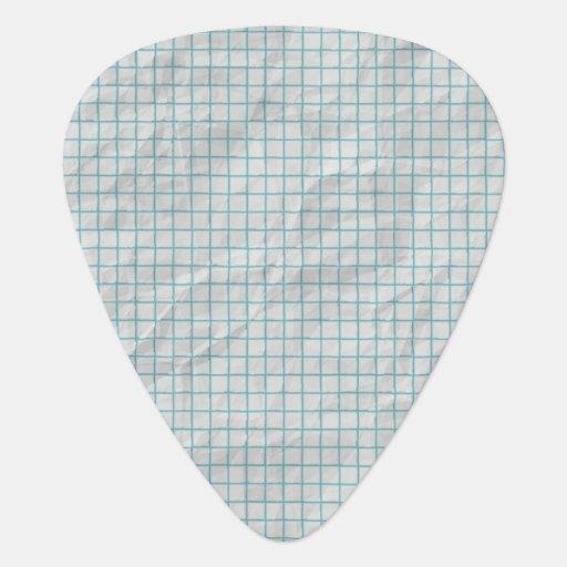 Papier de graphique onglet de guitare