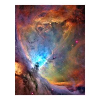 Papier de métier de l'espace de nébuleuse d'Orion Prospectus 21,6 Cm X 24,94 Cm