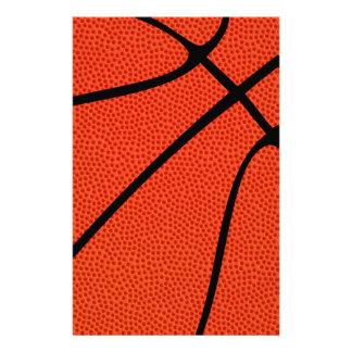 Papier de papeterie de peau de basket-ball