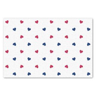 Papier de soie de soie américain d'amour