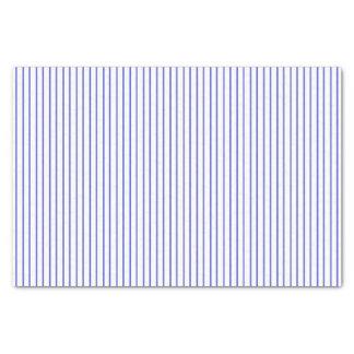Papier de soie de soie bleu et blanc de filet
