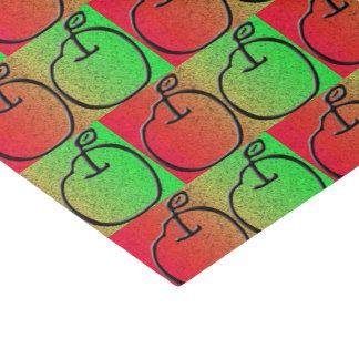 Papier de soie de soie d'Apple