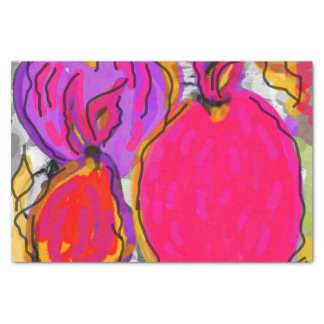 Papier de soie de soie de conception de fruit