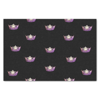 Papier de soie de soie de couronne d'orchidée de